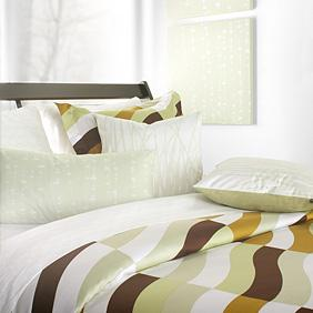 Soak in Amber Duvet Cover and Shams