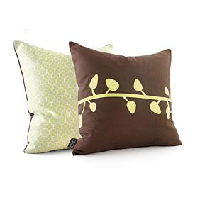 Sprout in Chocolate Pillow