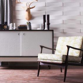 Stitch Wall Flats, 3D embossed wall tiles