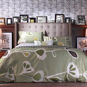 Stencil Duvet and Sham set