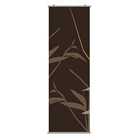 Tall Grass in Charcoal and Olive 1 Slat