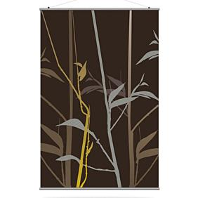 Tall Grass in Charcoal and Olive XL Slat