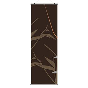 Tall Grass in Charcoal and Rust 1 Slat