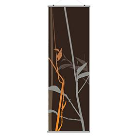 Tall Grass in Charcoal and Rust 2 Slat