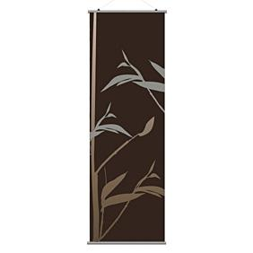 Tall Grass in Charcoal and Rust 3 Slat