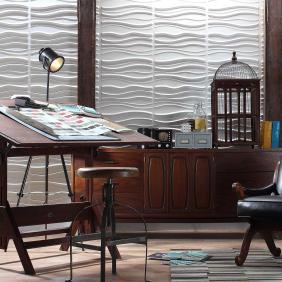 Tierra Wall Flats, 3D embossed wall tiles