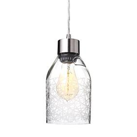 Urban in Clear Reclaimed Bottle Pendant Light