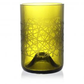 Urban Green Drinking Glass