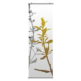 Wildflower in Silver and Olive 2 Slat