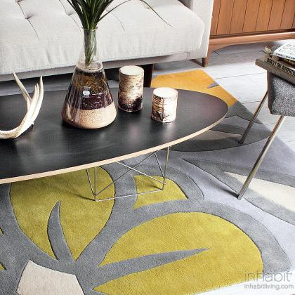 Laguna in Flint & Kiwi Hand-Tufted Wool Rug