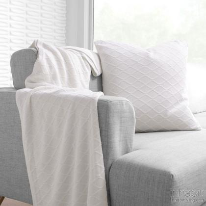 Current in Ivory  Studio Pillow