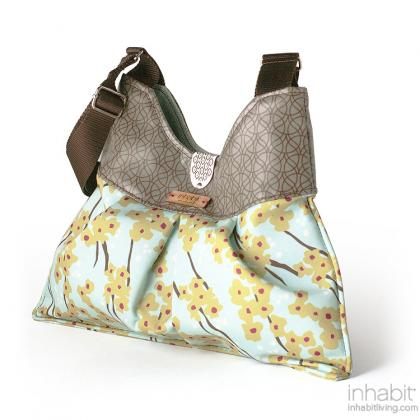 Kennedy Flowering Pyrus in Cornflower Handbag