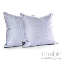 Madera in Artic Sky  Studio Pillow-OUTLET ITEM
