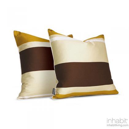 Nourish in Amber  Studio Pillow