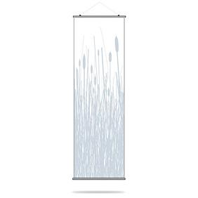 Cattails in Ice Slat