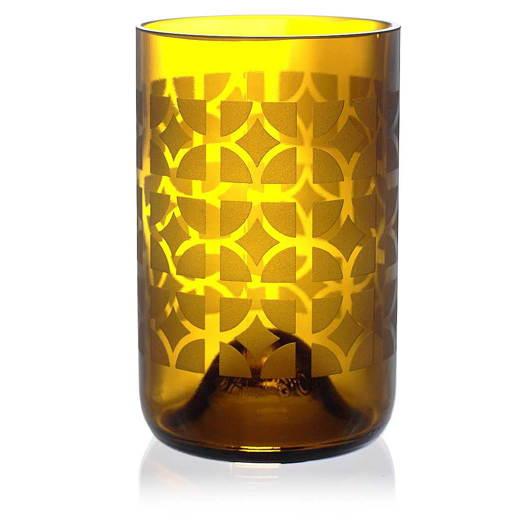 Nixon Amber Drinking Glass