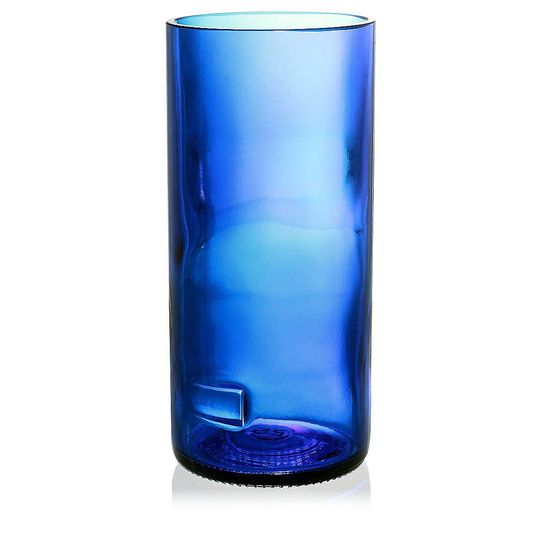 Naked Blue Drinking Glas