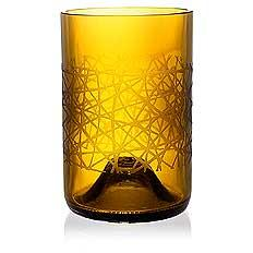 Urban Amber Drinking Glass