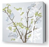 Ailanthus in Sky Stretched Wall Art