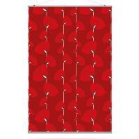 Lotus in Scarlet Slat