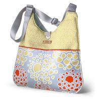 Nixon Mum in Scarlet & Mustard Handbag