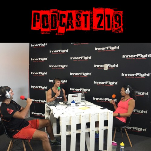 Podcast 219 LISTEN NOW: InnerFight with Ram and Doris