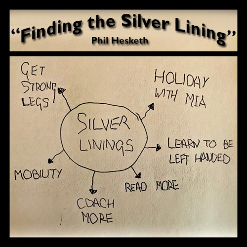 Finding the Silver Lining, by Phil Hesketh