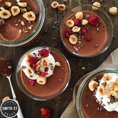 Paleo Chocolate Pots