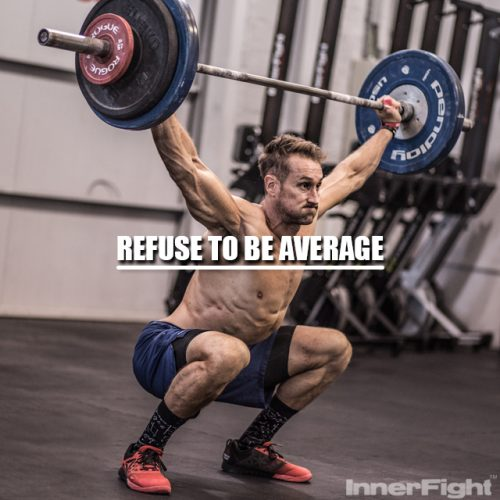 Refuse to be Average, by Matt Jones