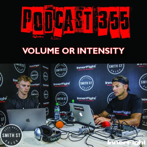 #355: Volume or Intensity? Fitness under 3 minutes.