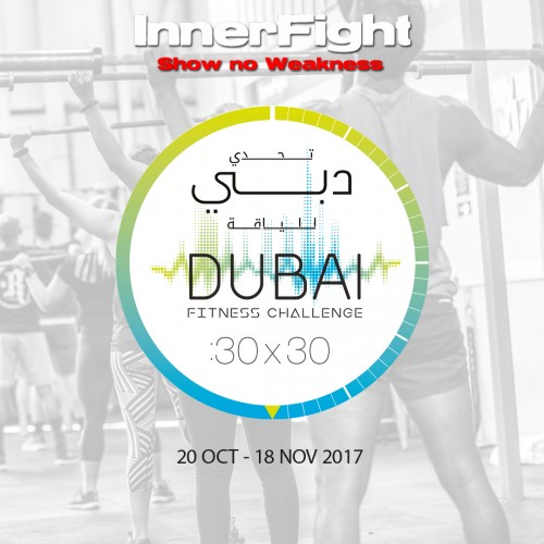 InnerFight teams up with The Dubai Fitness Challenge!