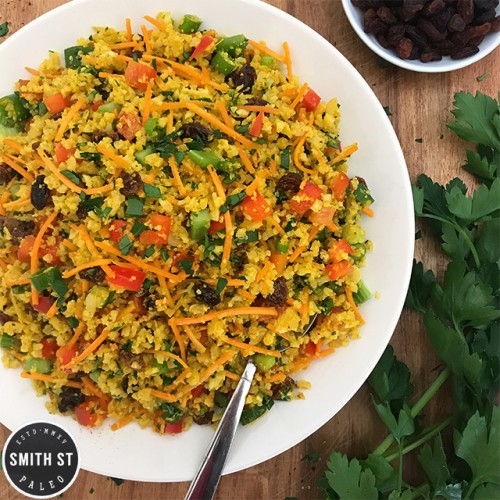 Paleo Curried Rice Salad
