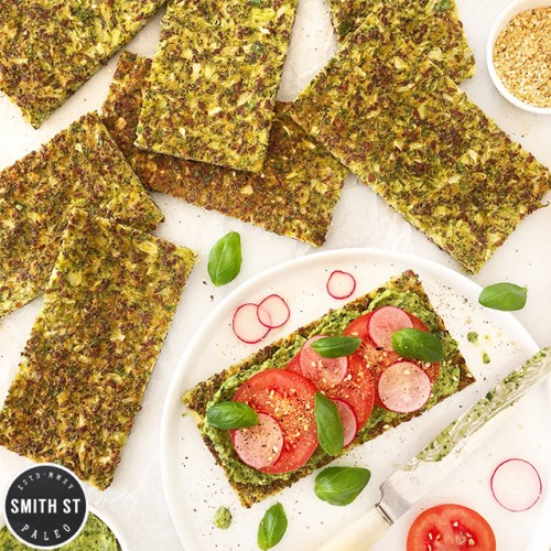 Paleo Broccoli Flatbread