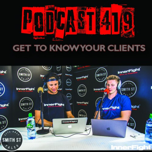 #419: Get to know your clients. Fitness under 3 minutes.