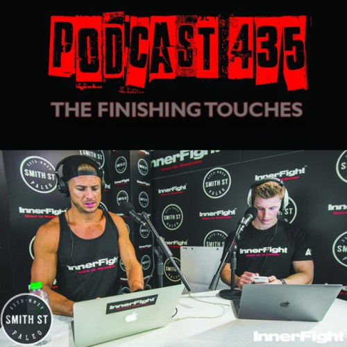 #435: The finishing touches. Fitness in under 3 minutes.