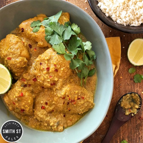 Paleo Balinese Chicken Curry