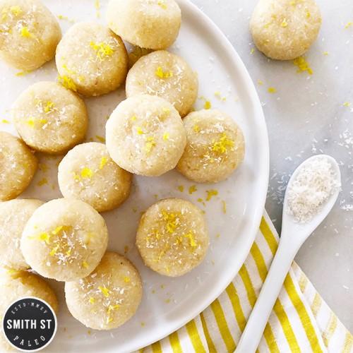 Paleo Lemon & Coconut Macaroons
