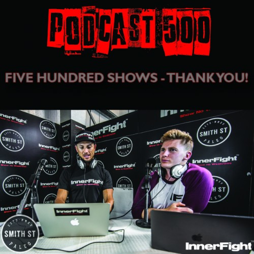 PODCAST #500 LISTEN NOW: Five Hundred Shows – Thank you!