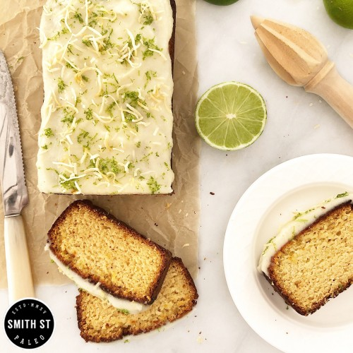Paleo Lime & Coconut Loaf
