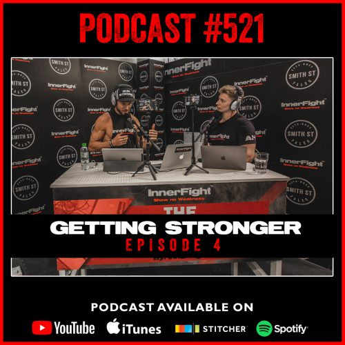 "#521: Eating for strength. Episode 4 in the ""Getting Stronger"" series."