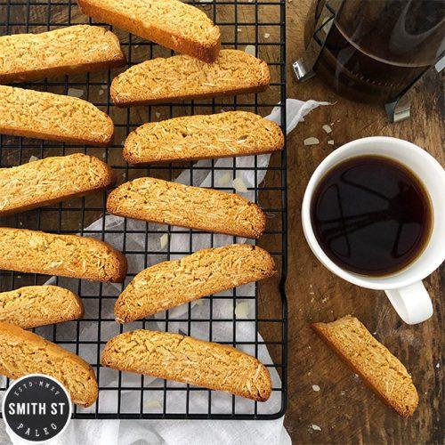 Paleo Almond Biscotti