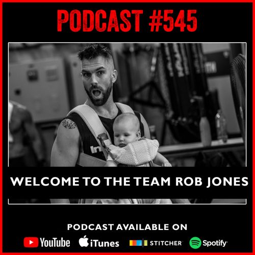 #545: Welcome to the team Rob Jones
