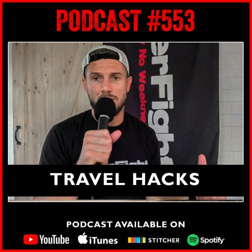 #553: Travel hacks to stay fit, healthy and feeling awesome!