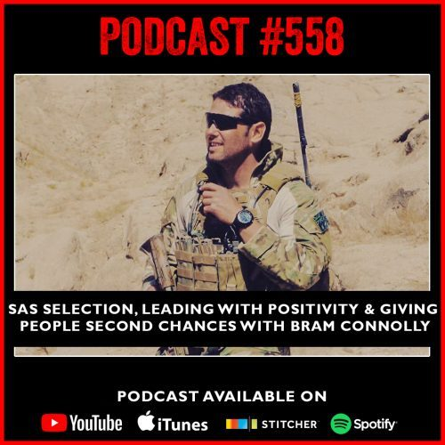 #558 SAS selection, leading with positivity and giving people second chances with Bram Connolly