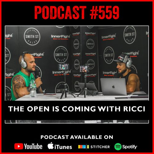 #559: The open is coming with Ricci