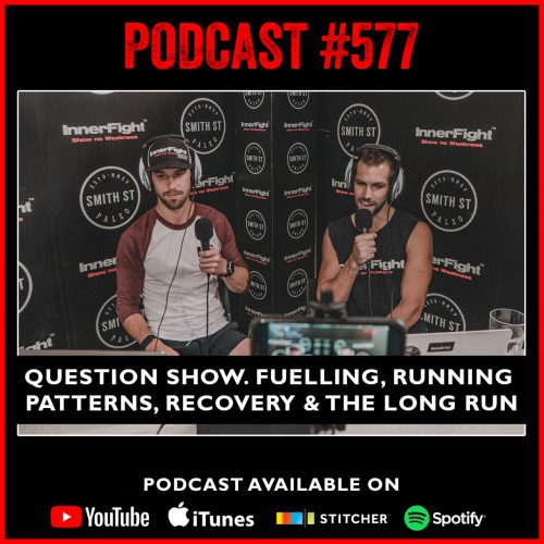 #577: Question show. Fuelling, Running patterns, Recovery and the Long run.