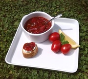 Tomato Jam with the Summer's Surplus