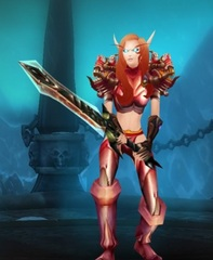 Level 90 Female Blood Elf Death Knight Wow Accounts for sale