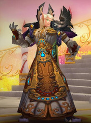 Level 90 Male Blood Elf Priest Wow Accounts for sale
