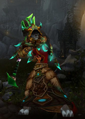Level 90 Female Worgen Druid Wow Accounts for sale